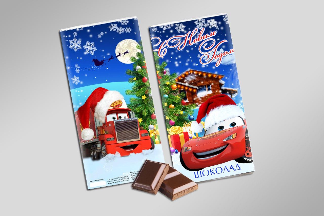 Наборы на новый год с шоколадом